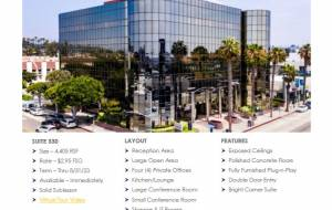 Santa Monica office space for lease