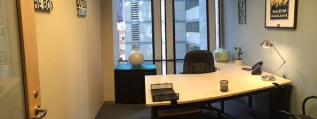San Francisco, CA serviced offices