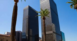 Offices in 515 S. Flower Street, Downtown LA