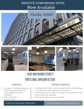 Pearl West Coworking office space for rent