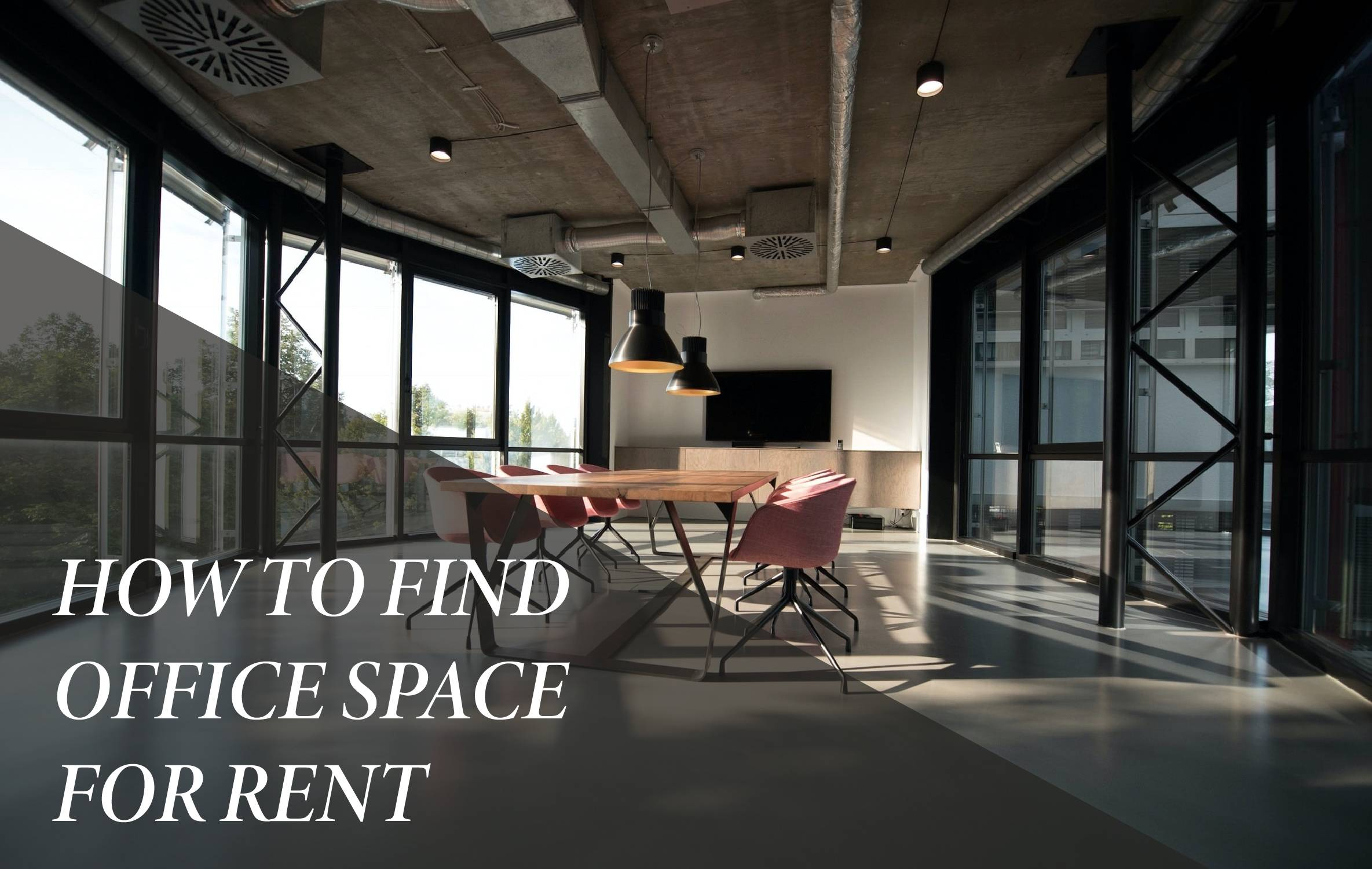How to find office space for rent