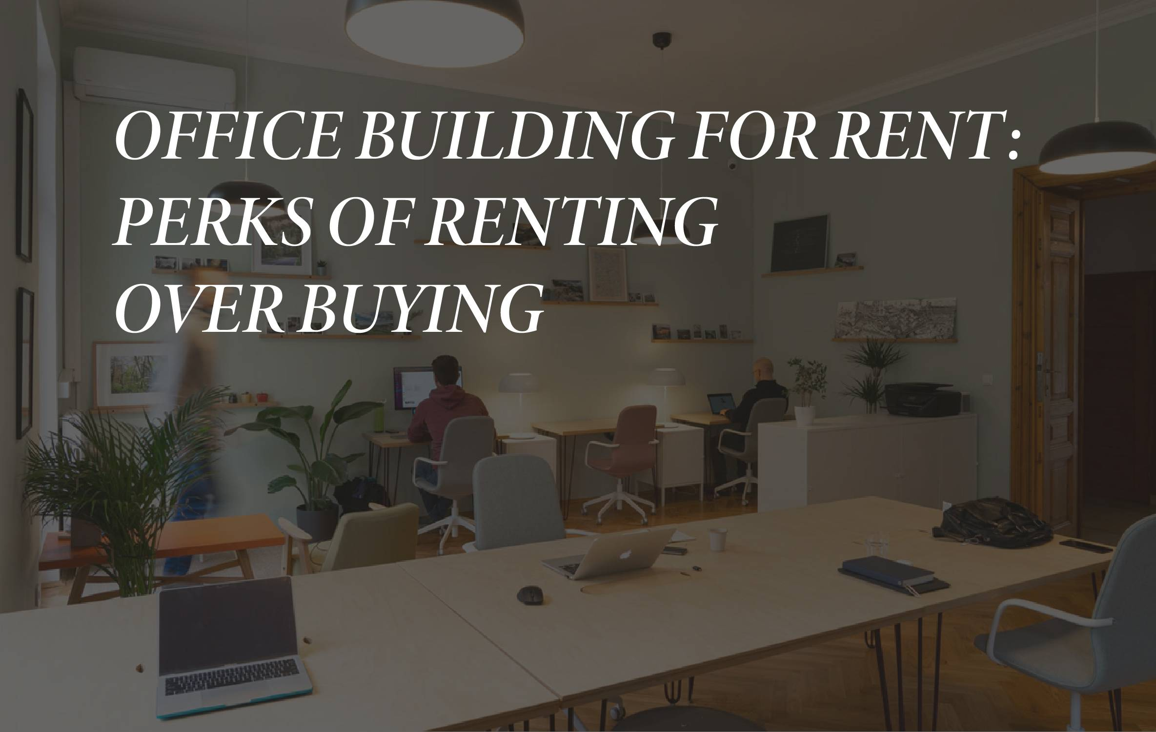 Office building for rent