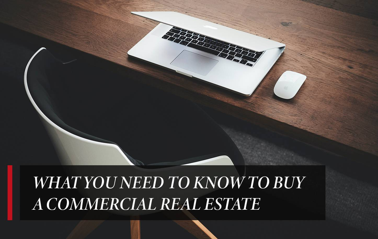 What you need to know to buy a commercial real estate